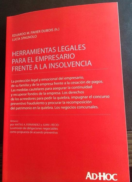TAPA LIBRO HERRAMIENTAS EMPRESARIO INSOLVENCIA