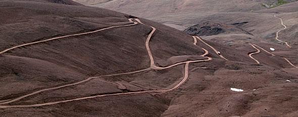 camino sinuoso II